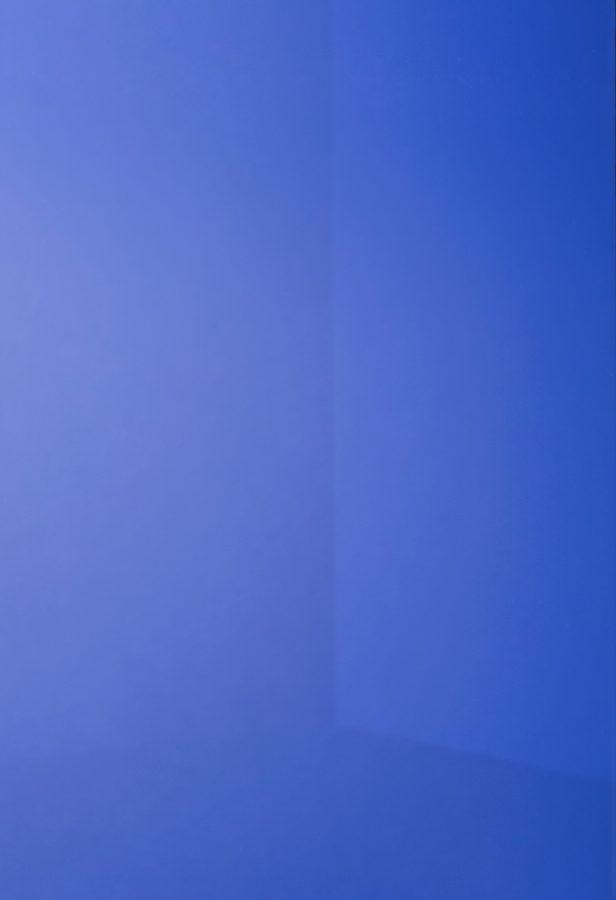 specchio colorato argentato blu cobalto dettaglio