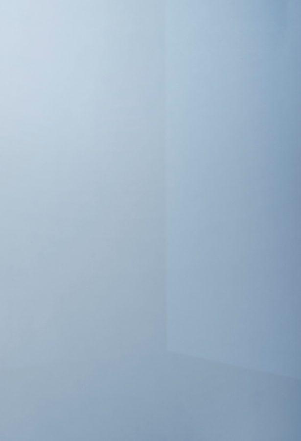 specchio colorato argentato dark blue dettaglio