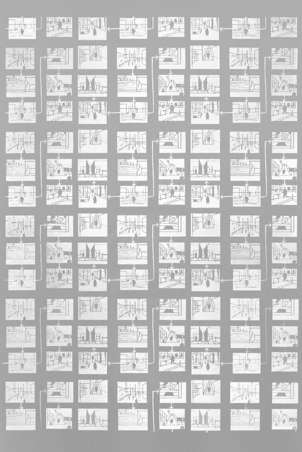 vetro inciso decoro m5 metropolis architettura